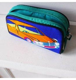 Huisteil creaties Handy pouch Huisteil  XL vintage car