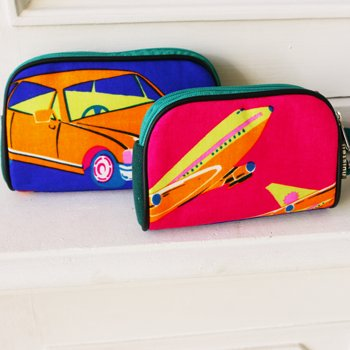 Handy pouch Huisteil  XL vintage car