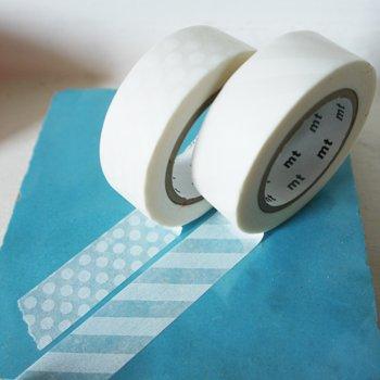 MT masking tape dot white