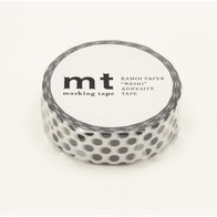 MT washi tape dot black 2