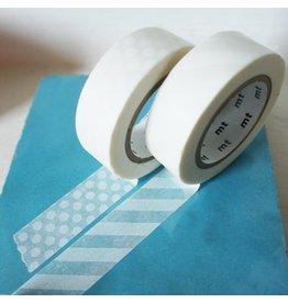 MT  MT washi tape stripe white