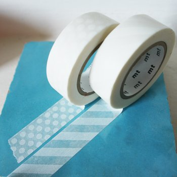 MT masking tape stripe white