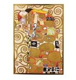 Kaart Tevredenheid van Gustav Klimt