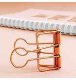 Binder Clips XL pink