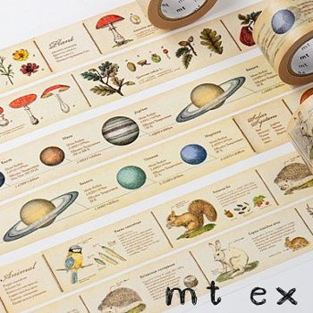 MT masking tape ex encyclopedia animal