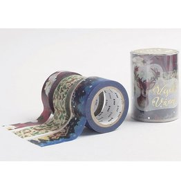MT  MT washi tape Kerstset 5
