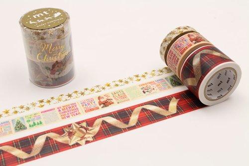 MT washi tape Kerstset 2