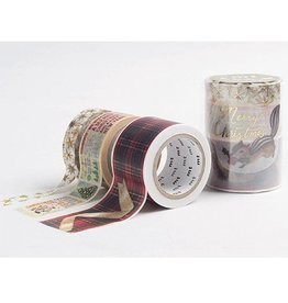 MT  MT washi tape Kerstset 2