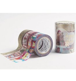 MT  MT washi tape Kerstset 4