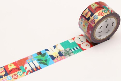 MT washi tape Geometric christmas