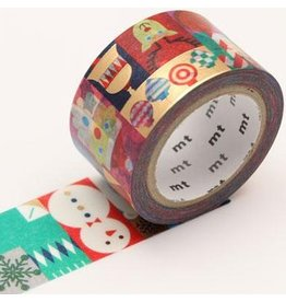 MT  MT washi tape Geometric christmas