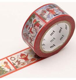 MT  MT masking tape Kerst stitch story