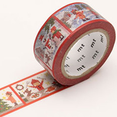 MT washi tape Kerst stitch story