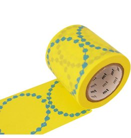 MT  MT washi tape ex tambourine geel