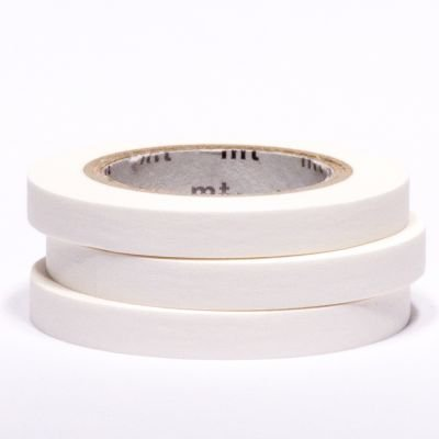 MT masking tape slim set white 6 mm