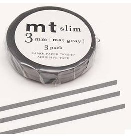 MT  MT masking tape slim set grijs 3 mm