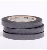 MT masking tape slim set grijs 6 mm