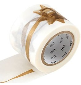 MT  MT masking tape ex ribbon gold