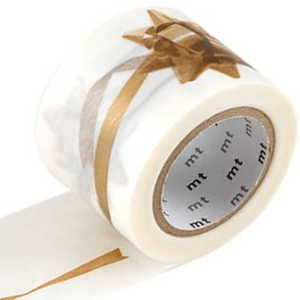 MT masking tape ex ribbon gold