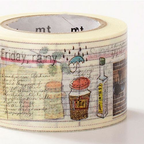 MT masking tape diary of cook