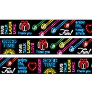 MT washi tape ex neon sign