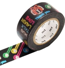MT  MT masking tape ex neon sign