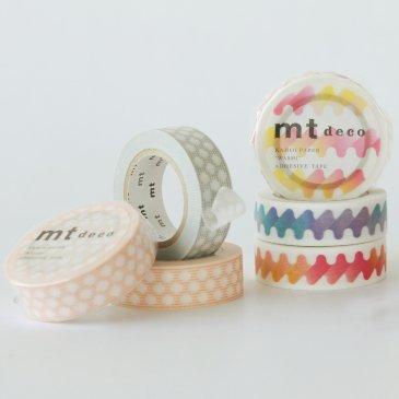 MT washi tape hougan dot orange