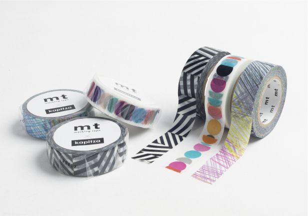 MT washi tape Kapitza lineup