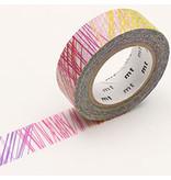 MT washi tape Kapitza scribble