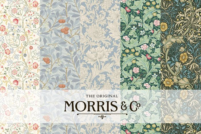 MT masking tape William Morris Larkspur