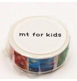 MT washi tape kids colors