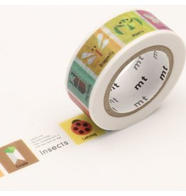MT  MT washi tape kids Insects