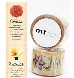 MT  MT washi tape fab Flower