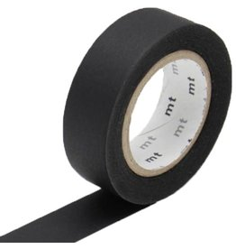 MT  MT washi tape zwart