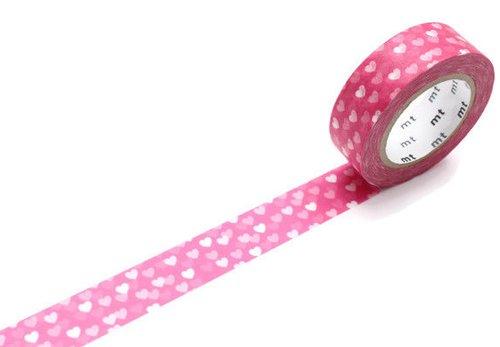 MT washi tape heart spot