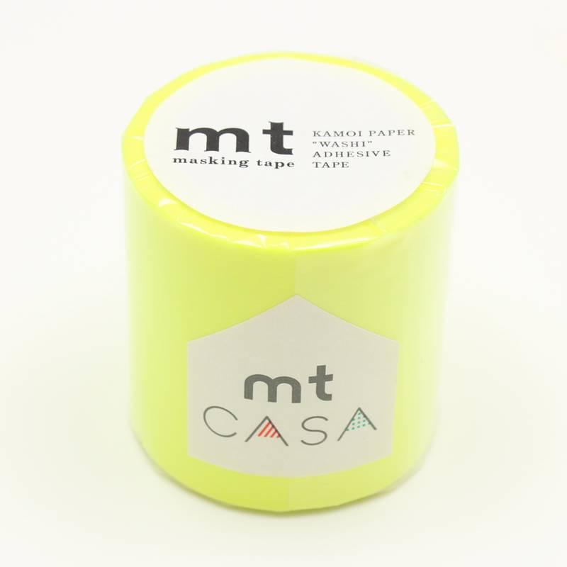 MT casa washi tape shocking yellow 50 mm