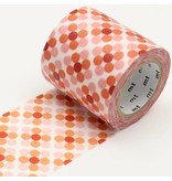 MT casa washi tape Oboro dot fire 50 mm