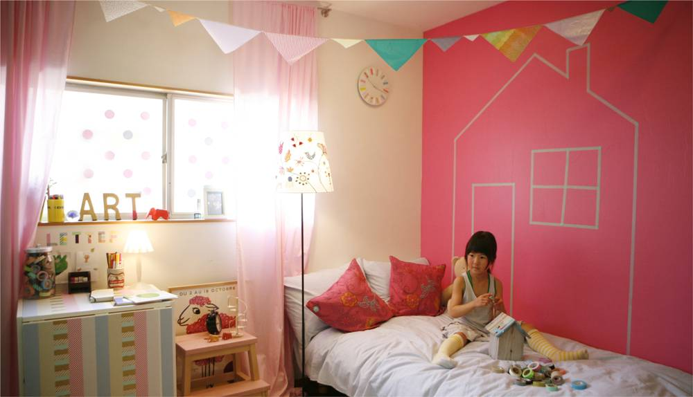 MT washi tape casa Yellow 100 mm