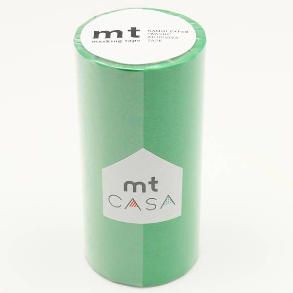 MT washi tape casa groen 100 mm