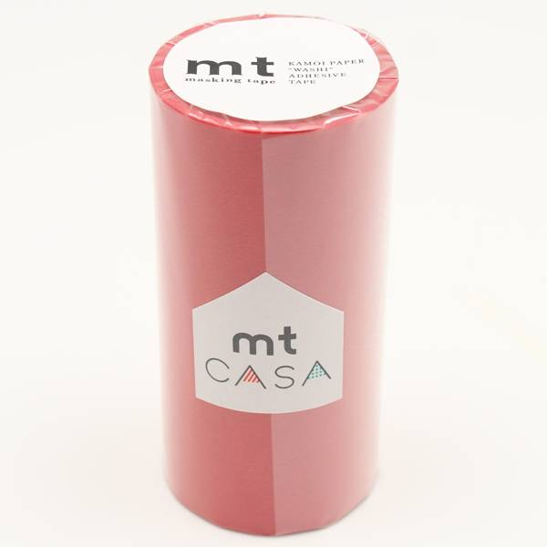 MT  casa washi tape Red 100 mm