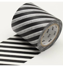 MT  MT casa washi tape stripe black 50 mm