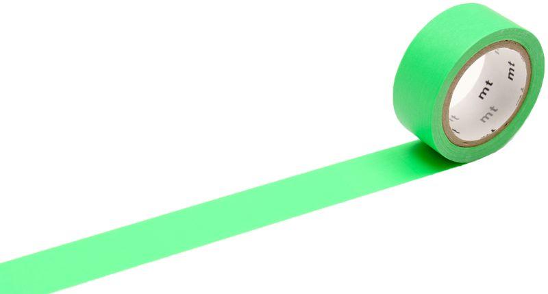 MT washi tape fab Fluor green