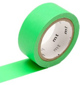 MT  MT washi tape fab Fluor green