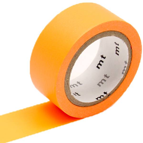 MT washi tape fab Fluor orange
