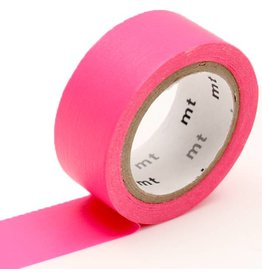 MT  MT washi tape fab Fluor pink