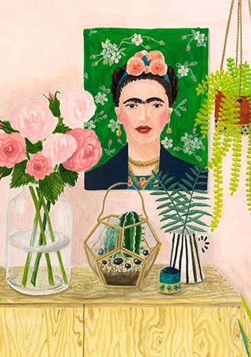 Schrift tribute to Frida