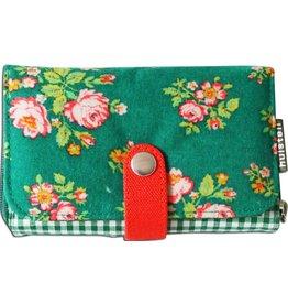 Huisteil creaties Double printed beurs Huisteil Green rose