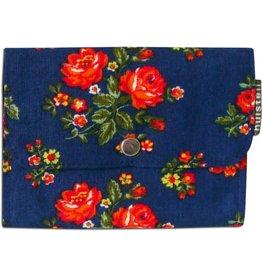 Huisteil creaties Pocket Huisteil Blue rose