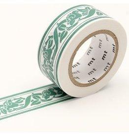 MT  MT masking tape William Morris Lily border