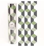 MT casa washi fleece solid geometry